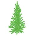 New Year Tree6 vector image