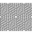 Seamless lattice vector image vector image