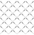 Swords seamless pattern vector image vector image