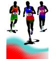 al 0440 running vector image