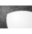 Abstract grey grunge wall background vector image vector image