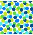 Ditsy polka dots vector image