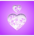 Happy spirit day heart vector image vector image