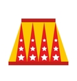 animal circus podium isolated icon design vector image