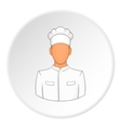 Cooker icon flat style vector image