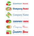 business labels vector image vector image