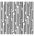 Line block pattern vector image vector image