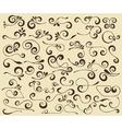 swirls set vector image