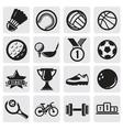 sports set vector image