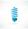 lightbulb icon vector image vector image