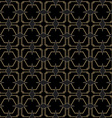 Seamless Art Deco Style Pattern vector image