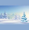 merry christmas light template vector image