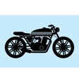 Classic Motorcycle vector image vector image