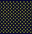 gold balls pattern vector image