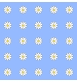 pattern of daisies vector image