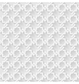Arab white pattern background vector image