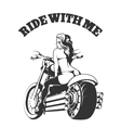 Ride with Me vector image