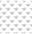 Magic lamp seamless pattern vector image