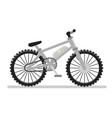 electric bike vector image