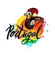 Portugal The Travel Destination logo vector image