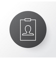 badge icon symbol premium quality isolated vector image