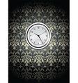 clock on wall vector image