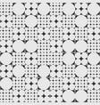 geometric circle pattern vector image