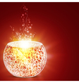holiday magic vector image