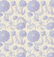 lilac flowers background vector image vector image