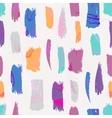 Seamless brush pattern vector image