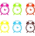 Set of a alarm clock vector image