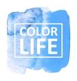 watercolor vector image