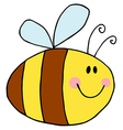 Pudgy Bee vector image