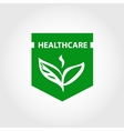 element design logo for health care vector image