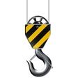 Lifting hook vector image vector image