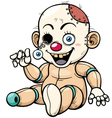 Zombie Toy vector image vector image