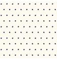 Blue polka dot pattern vector image