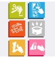Online ecommerce technology internet shopping vector image