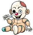 Zombie Toy vector image
