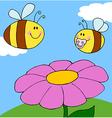 Chubby Baby Bee vector image
