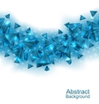 Abstract Background with Pyramids with Light vector image