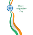 Happy India Independence Day vector image