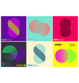 simplicity geometric design set clean lines and vector image
