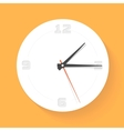 Wall clock Watch icon vector image