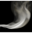Blown smoke vector image