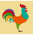 rooster Chinese calendar vector image