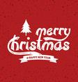 wish you merry christmas vector image