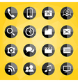 Mobile Applications icons vector image vector image