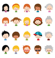 Character Set vector image