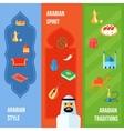 Arabic Culture Banner vector image
